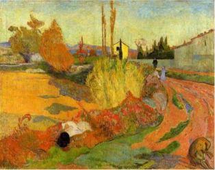 Paul Gauguin, Landscape at Arles, 1888