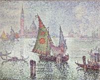 Paul Signac, La Voile Verte, 1904