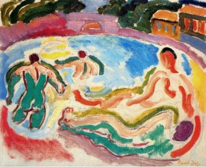 Raoul Dufy, Bathers, 1908
