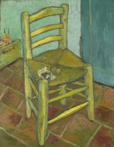 Vincent van Gogh, Van Gogh's Chair, 1888