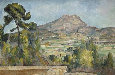 Paul Cezanne, Mount Sainte-Victoire, c1890