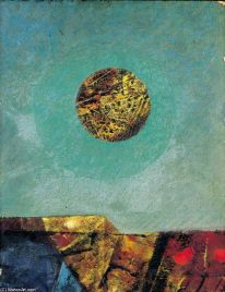 Max Ernst, Paysage avec Lune (Landscape with Moon)t