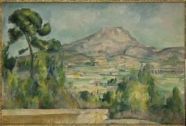 Paul Cezanne, Montagne Sainte-Victoire with Large Pine, 1887 (circa)