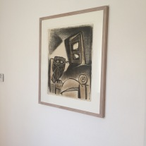 EPablo Picasso, Le Hibou a la chaise, 1947