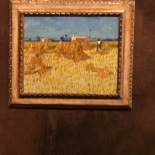Vincent Van Gogh, harvest in Provence, 1888