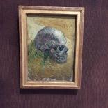 Vincent Van Gogh, Skull, 1887