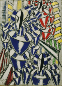 Férnand Leger, Exit the Ballets Russes, 1914