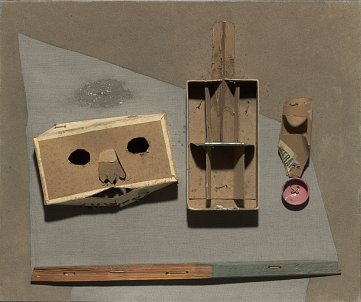Pablo Picasso Still-life with Mask  4 March 1937.PNG