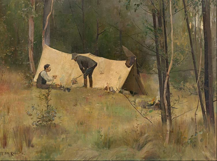 Tom Roberts, The Artists' Camp, 1887