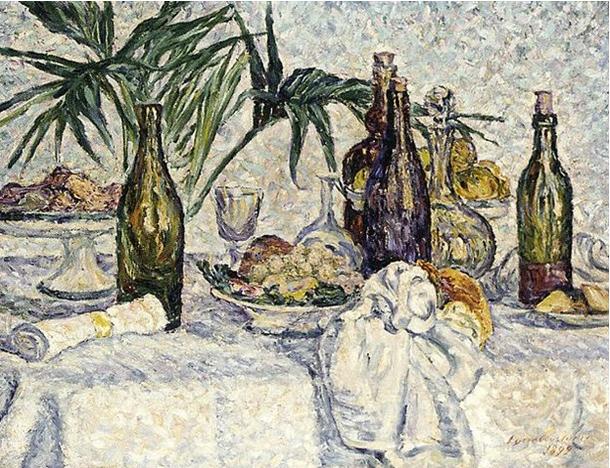 Lucie Cousturier, Le Dejeuner, 1899