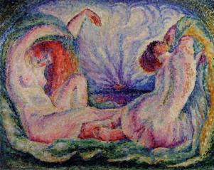Lucie Cousturier, Lever du Soleil
