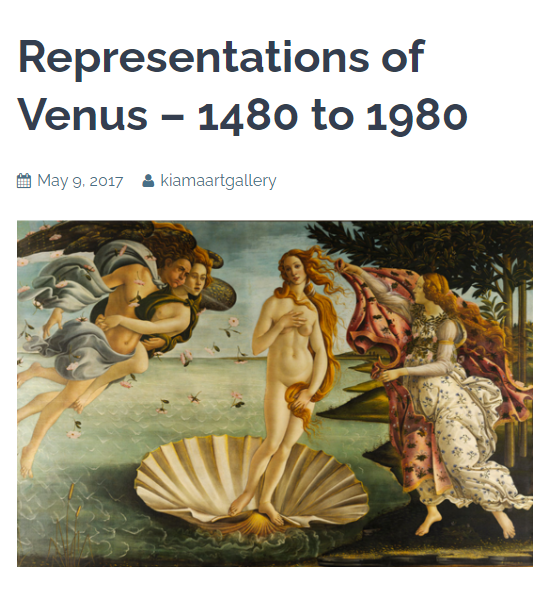 Representations of Venus
